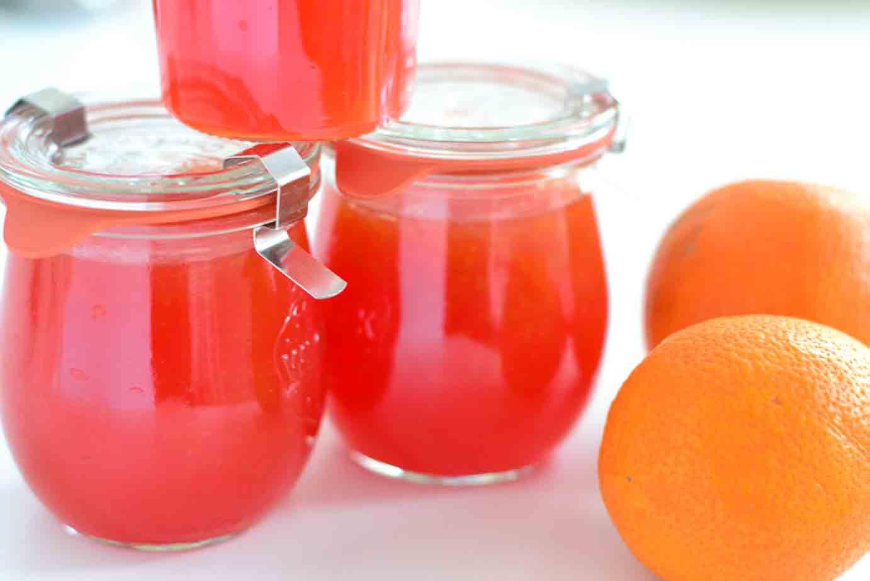 Pomeranzen-Blutorangen-Marmelade