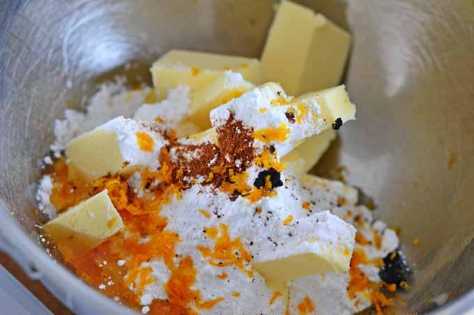 Buttermasse für Mohnkuchen mit Aromaten