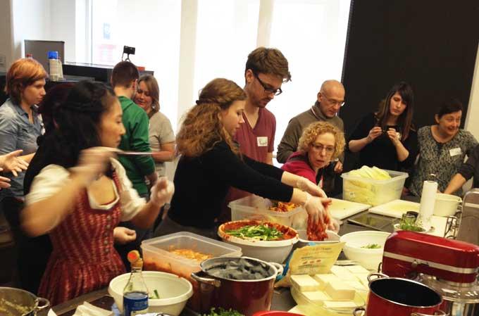 Kimchi selber machen Foodcamp Nürnberg