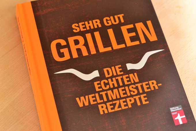 Sehr gut grillen Kochbuch Cover