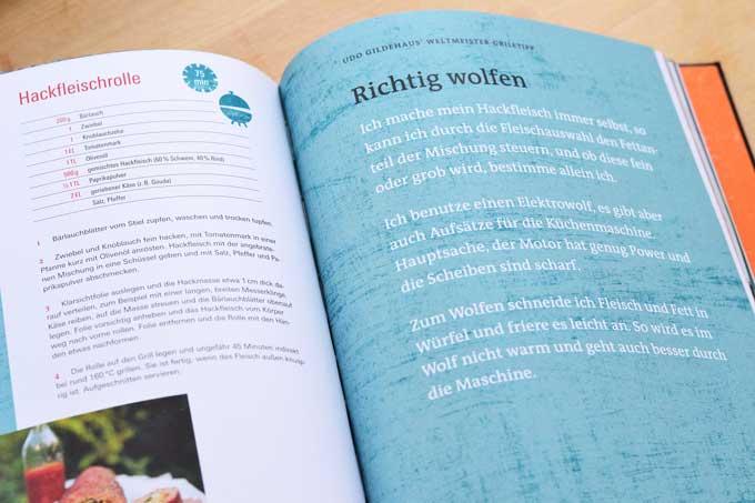 Sehr gut grillen Kochbuch Innenseite 2