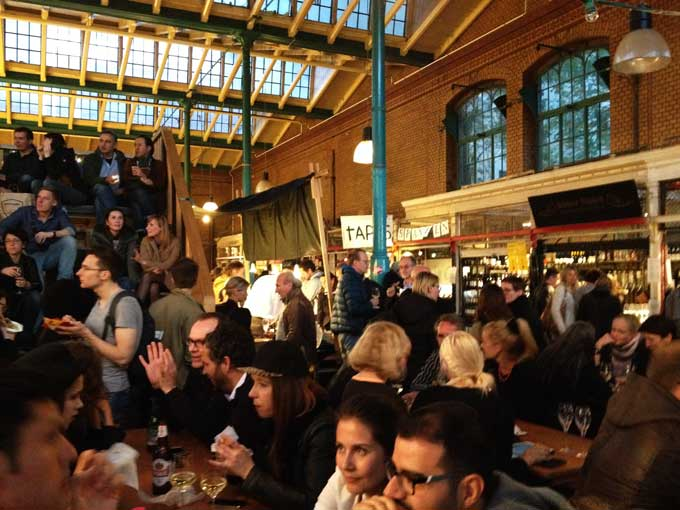 Streetfood Thursday in der Markthalle 9 in Berlin