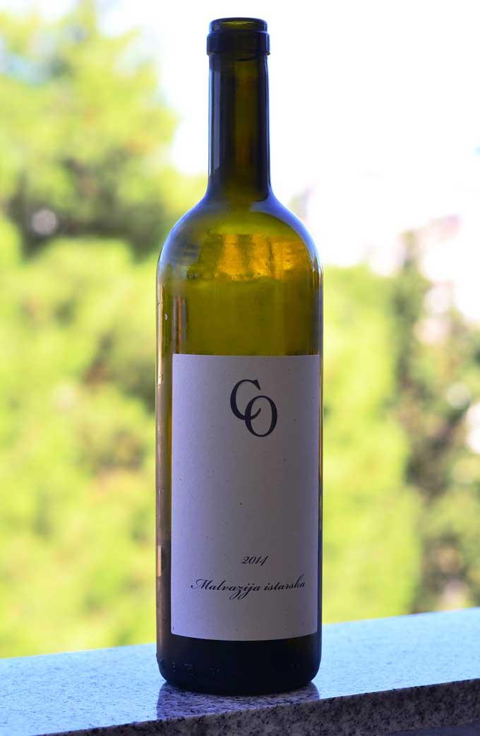 Flasche Malvasia Wein vom Weingut Coronica