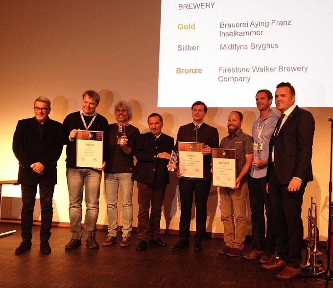 Preisträger Gruppenbild European Beer Star