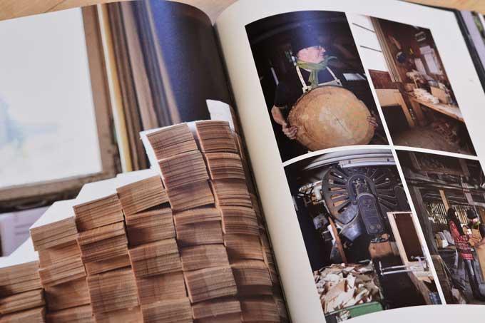 Wurstwerkstatt-Innenseite mit Fotos