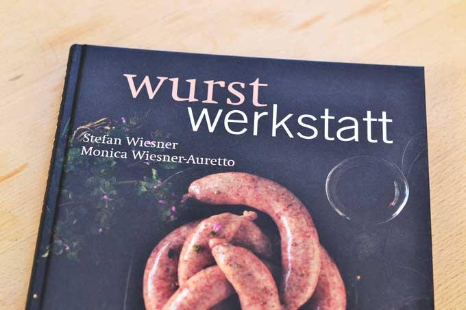Cover Buch Wurstwerkstatt von Stefan Wiesner