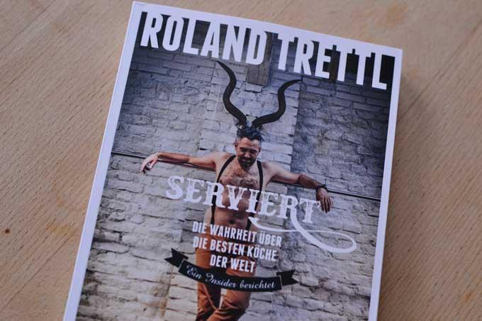 Buch Serviert von Roland Trettl