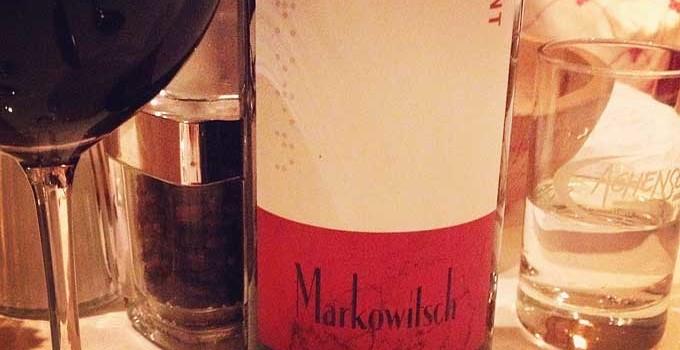 Redmont Flasche Wein von Markowitsch