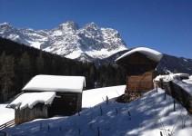 Winterlandschaft Dolomiten Südtirol