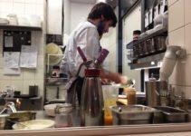Einzimmer Küche Bar Impression aus der Küche