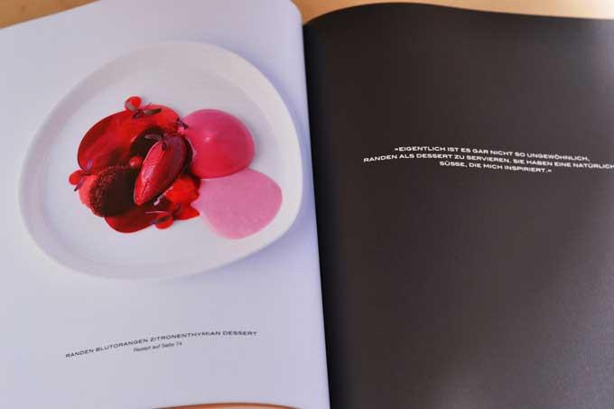Beispiel Doppelseite aus dem Kochbuch