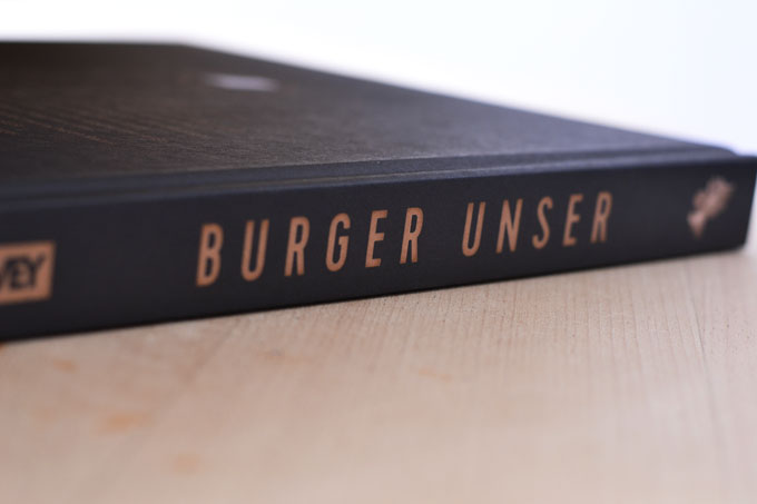 Burger Unser Buchrücken