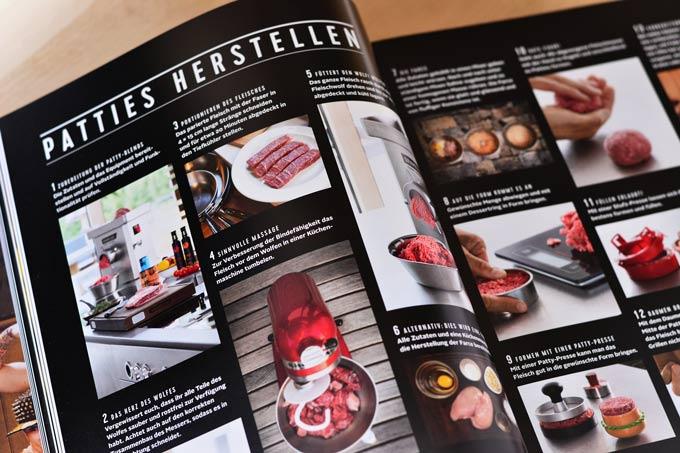 Burger Unser Innenseite mit Erklärungen und Bildern