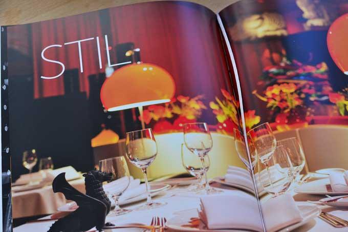 Hans Haas Buch Innenseite mit Foto vom Tantris