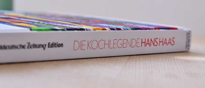 Kochlegende Hans Hass Kochbuch Rückenansicht
