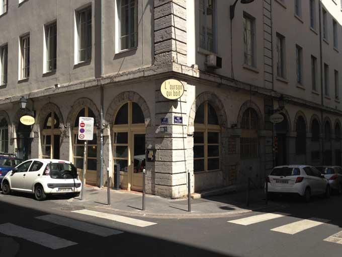 Restaurant L'ourson qui boit lLyon