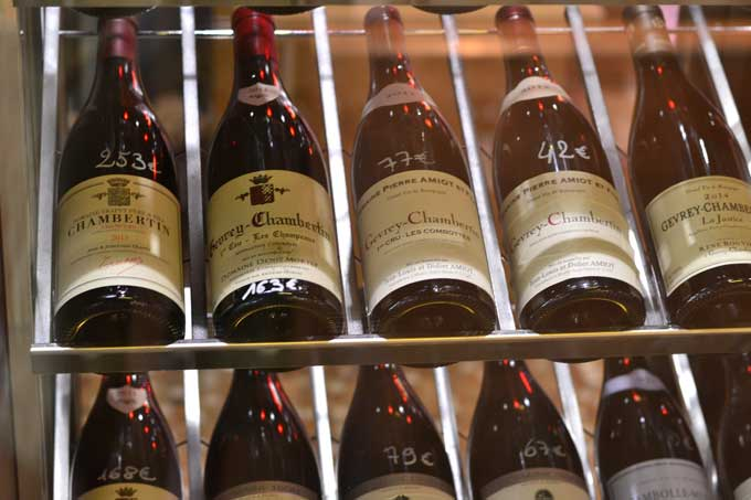 Weinangebot Les Halles de Lyon Paul Bocuse