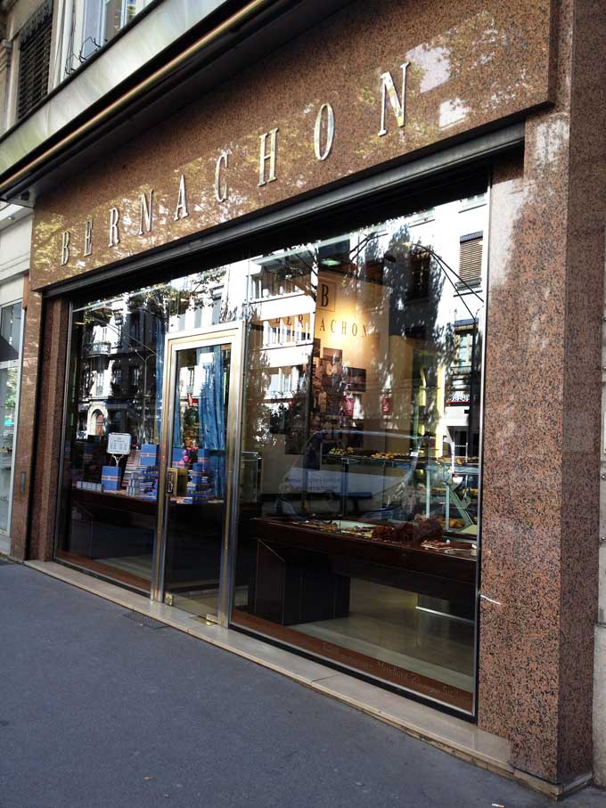 Außenansicht Bernachon Lyon