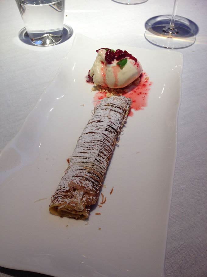 Steirereck Frittaten Dessert