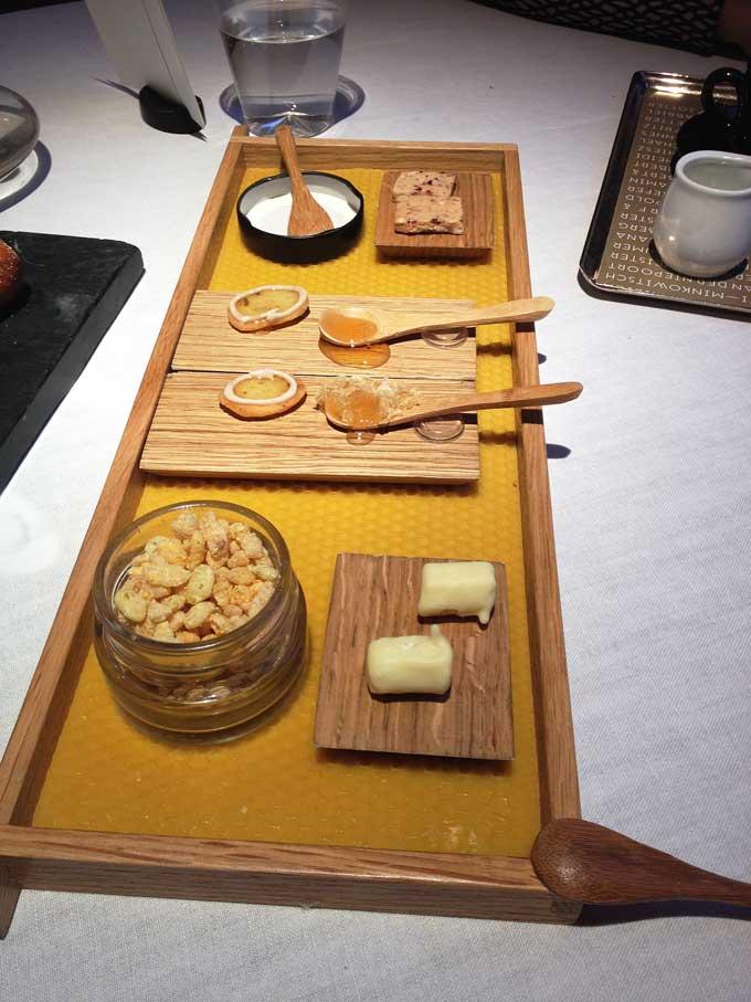 Steirereck Honig Auswahl zum Dessert