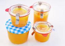 Orangenmarmelade mit Schale