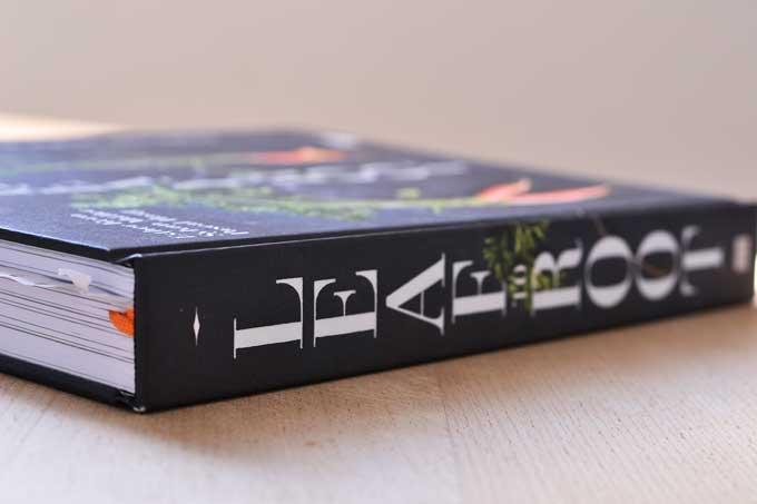 Ansicht Buchrücken des Kochbuchs Leaf-to-Root