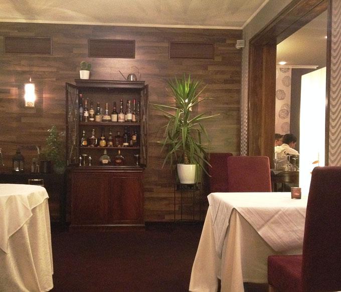 Blick ins Restaurant Entenstuben