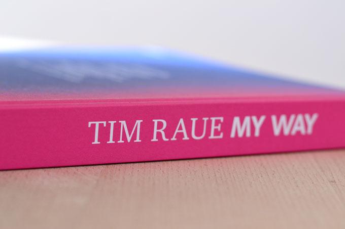 Buchrücken Kochbuch Tim Raue My Way