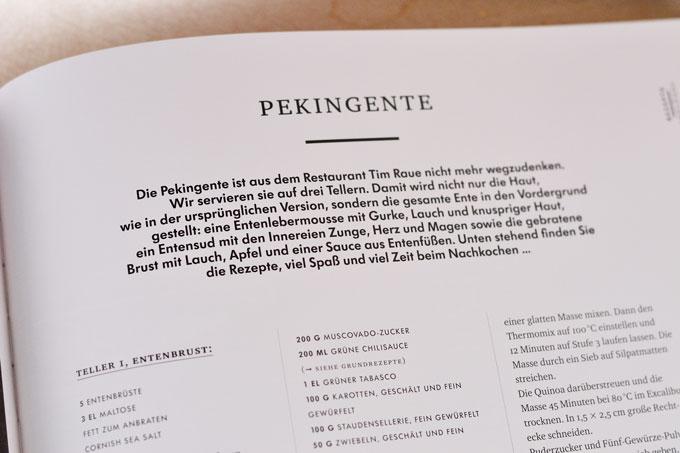 Einleitungstext zum Rezept Pekingente von Tim Raue im Buch My Way
